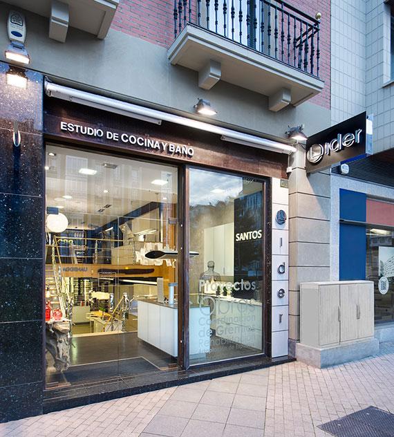 Fachada de Lider cocinas en Vitoria